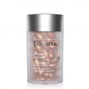Exuviance AF Vitamin C20 Serum Capsules, Facialist Leicester